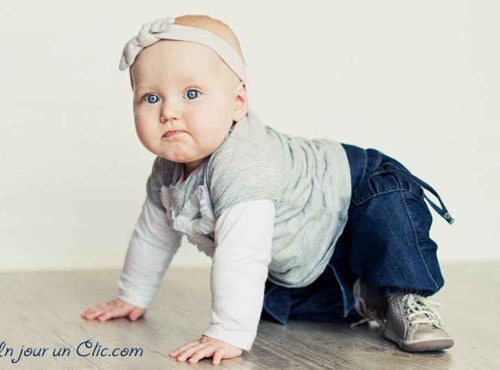 Lilou - Séance photo bébé