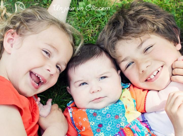 Théo, Camille et Louna